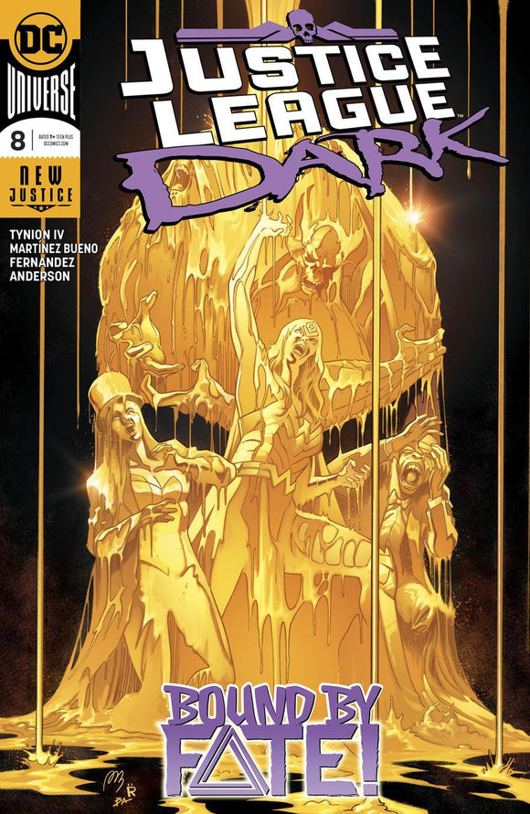 Justice League Dark #8 Alvaro Bueno & Fernandez Vf+/nm+ Comic