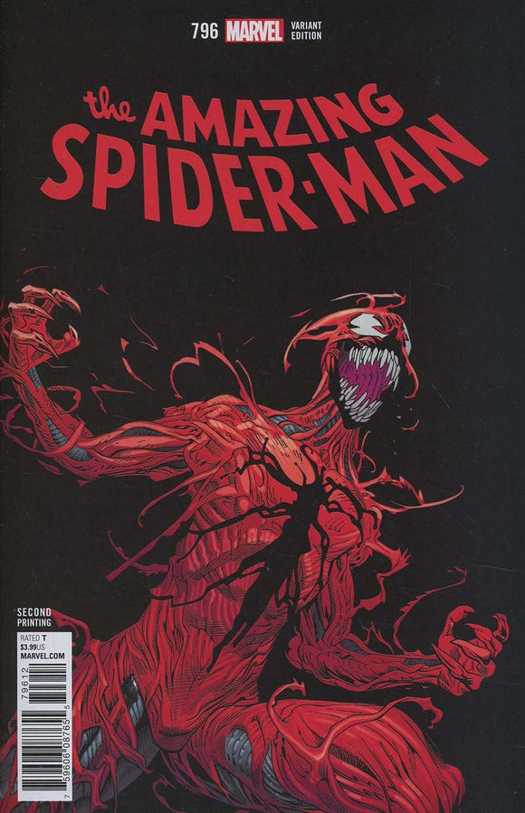 Amazing Spider Man #796 B 2Nd Print Mike Hawthorne Variant Vf+/nm+ Comic