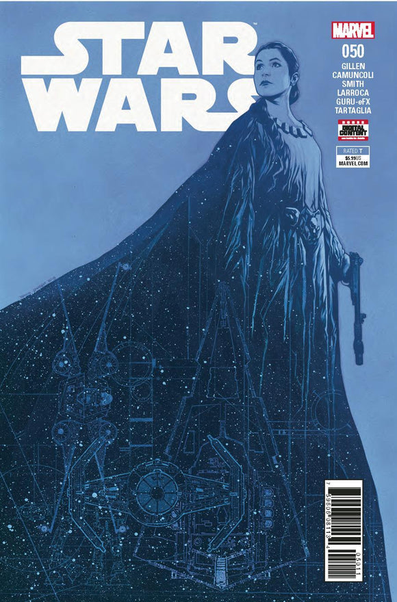 Star Wars #50 A Travis Charest 1St Print Vf+/nm+ Comic
