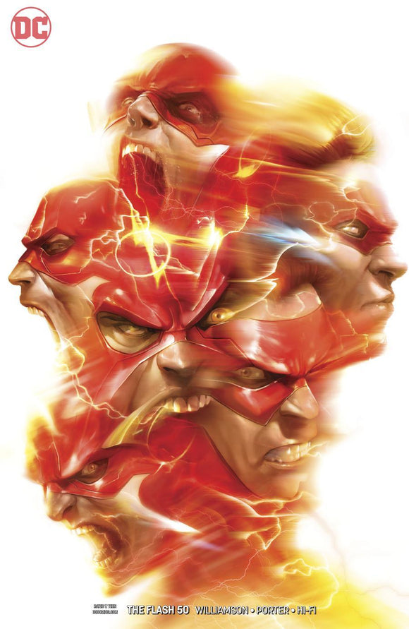 Flash #50 B Francesco Mattina Variant 1St Print Vf+/nm+ Comic
