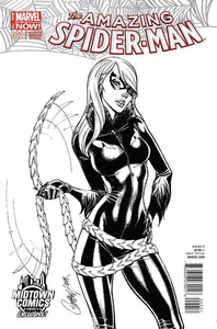Amazing Spider-Man #2 C J Scott Campbell Sketch Variant Vf+/nm+ 1St Print Comic