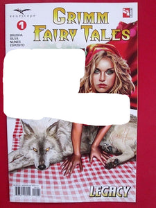 Grimm Fairytales #1C Greg Horn Sexy Variant Zenescope Vf+/nm+ Comic