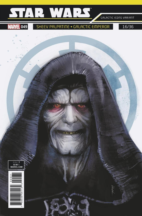 Star Wars #49 C Rod Reis Galactic Icon Variant Emperor Vf+/nm+ Comic
