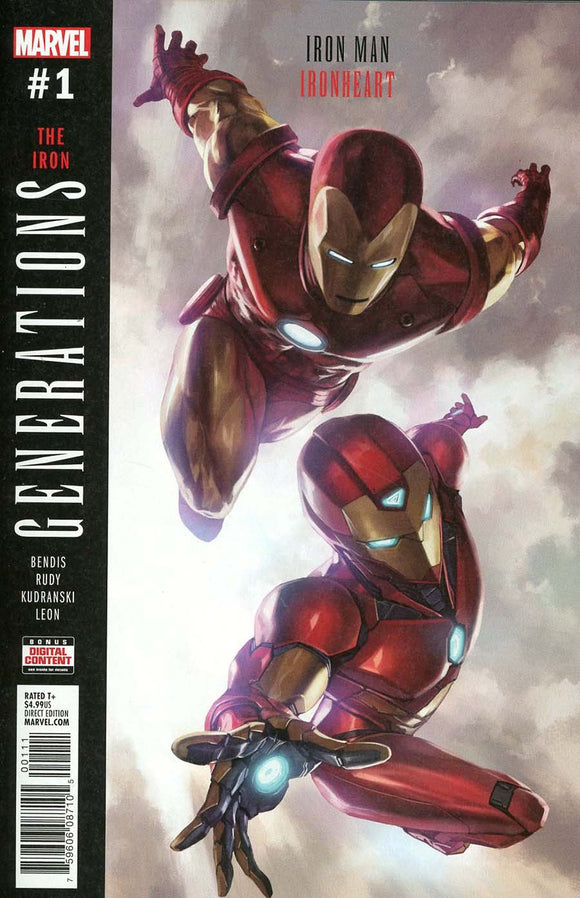 Generations Iron Man & Heart #1 Skan Vf+/nm+ Comic