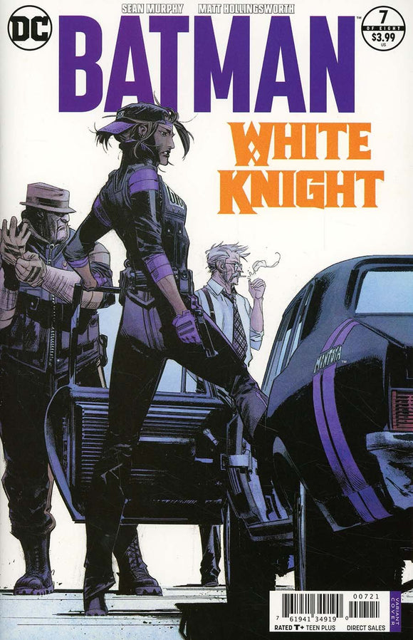 Batman White Knight #7 B 1St Print Sean Murphy Vf+/nm+ 2018 Sold Out Comic