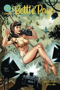 Bettie Page Vol 2 #1 A John Royle Cover VF+/NM+