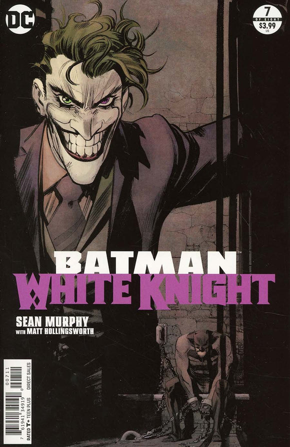 Batman White Knight #7 A 1St Print Sean Murphy Vf+/nm+ 2018 Joker Comic