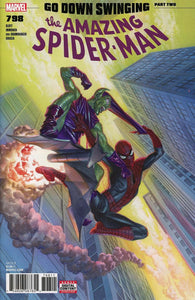 Amazing Spider-Man #798 A Alex Ross Vf+/nm+ 2018 Sold Out Rare Comic