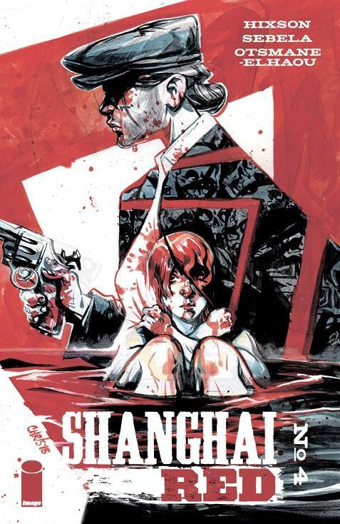 Shanghai Red #4 B Chris Visions Variant Vf+/nm+ Comic