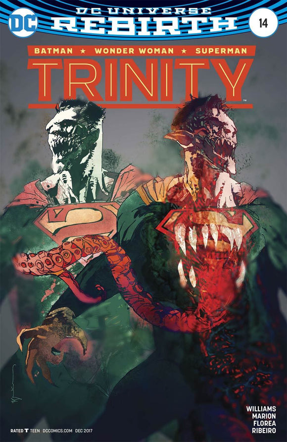 Trinity #14 B Bill Sienkiewicz Variant Vf+/nm+ Superman Comic