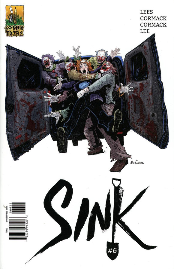 Sink #6 A Alex Cormack Vf+/nm+ Comic