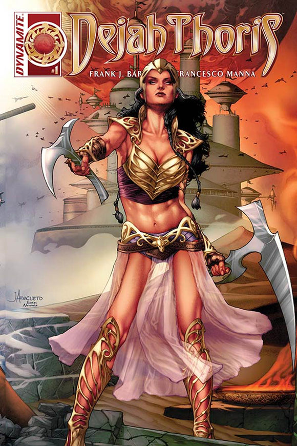 Dejah Thoris #1 E Jay Anacleto Connecting Variant VF+/NM+
