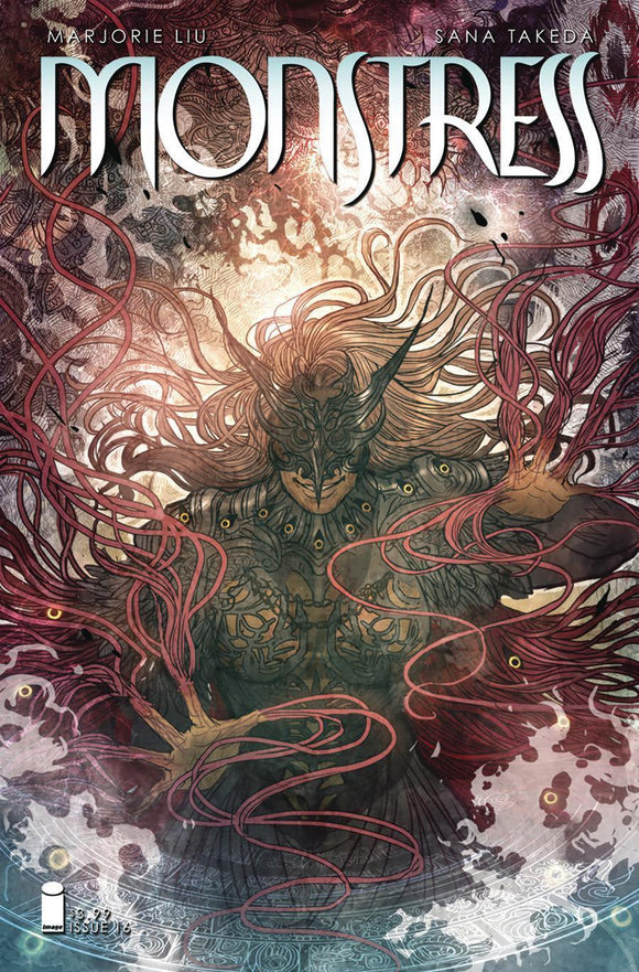 Monstress #16 Sana Takeda Variant Vf+/nm+ 1St Print Comic