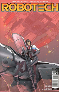 Robotech #1 Vol 3 Rachel Scott Sdcc Exclusive Variant 1St Print Vf+/nm+ Comic