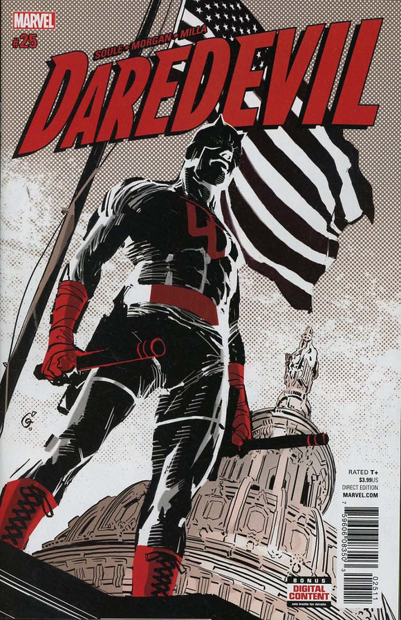 Daredevil Vol5 #25A Morgan Vf+/nm+ Comic