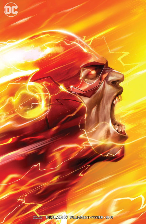 Flash #49 B Francesco Mattina Variant 1St Print Vf+/nm+ Comic