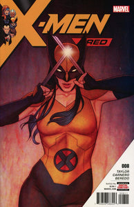 X-Men Red #8 A Jenny Frison Cover Vf+/nm+ 1St Print Comic