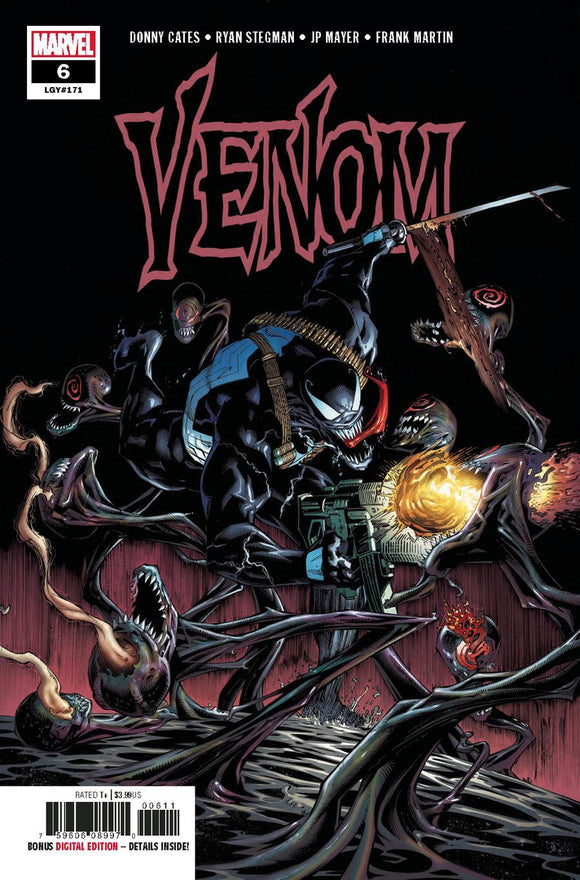 Venom Vol4 #6A Ryan Stegman 1St Print Vf+/nm+ Comic