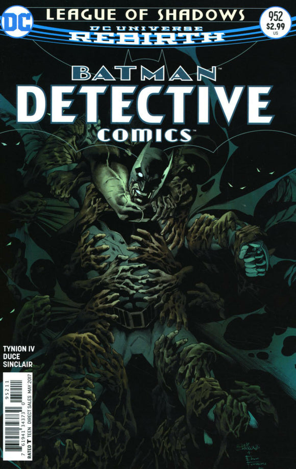 BATMAN Detective #952 A Regular Barrows & Ferreira VF+/NM+