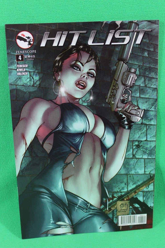 Hitlist #4A Mike Krome Variant Zenescope Vf+/nm+ Comic
