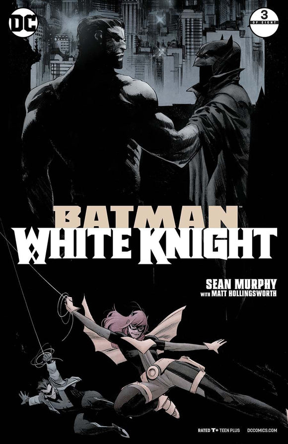 Batman White Knight #3 A 1St Print Sean Murphy Vf+/nm+ Comic