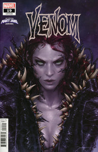 Venom #1 B Jeehyung Lee Mary Jane variant VF+/NM+