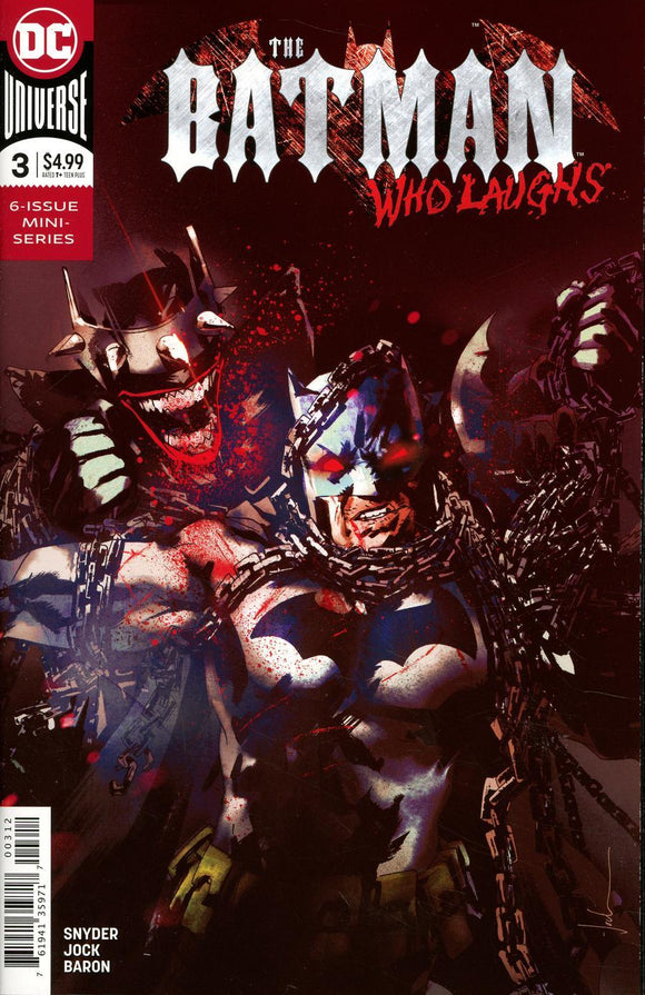 Batman Who Laughs #3 C Jock 2Nd Print Nm Comic