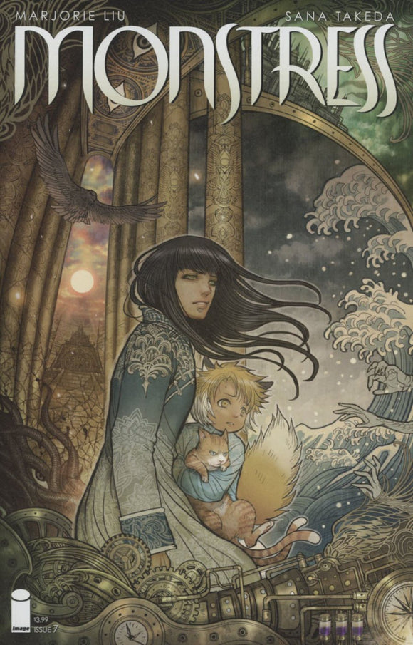 Monstress #7 Sana Takeda Nm+ Comic