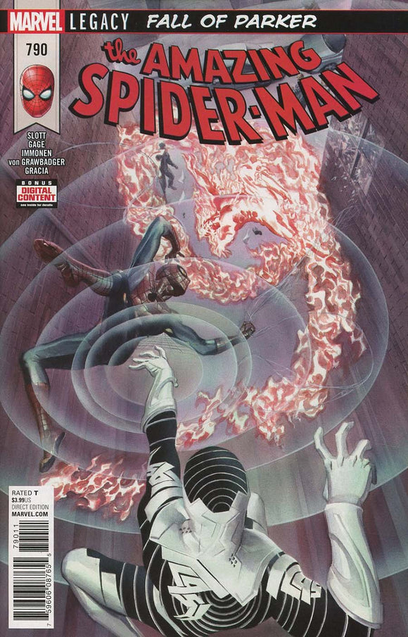 Amazing Spider-Man #790 A Stuart Immonen Vf+/nm+ 1St Print Comic