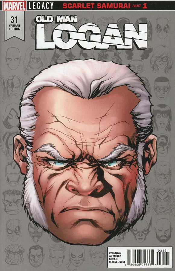 Old Man Logan #31 A 1St Print Mckone Headshot Vf+/nm+ Comic