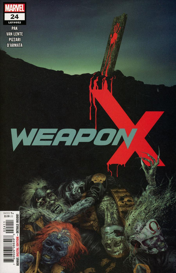 Weapon X #24 Rahzzah Vf+/nm+ 1St Print Vol3 Comic