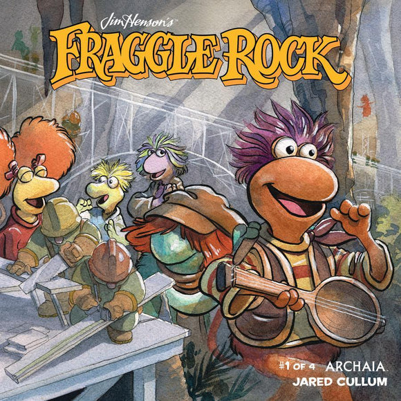 Fraggle Rock #1 A Regular Jared Cullum Cover Vf+/nm+ Comic