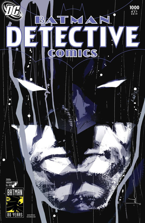 Batman Detective Comics #1000 I Jock 2000S Variant Vf+/nm+ Comic