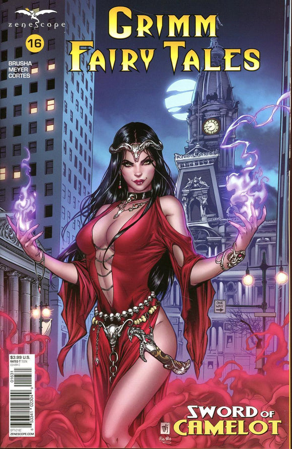 Grimm Fairy Tales Sword Of Camelot #16 C Mike Krome Vf+/nm+ Comic