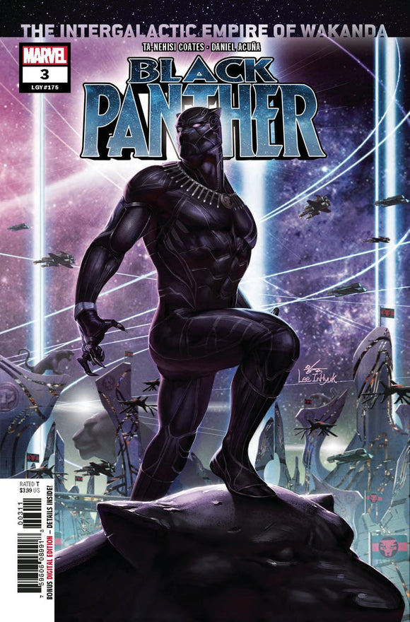 Black Panther #3 A In-Hyuk Lee Variant Vf+ To Nm+ Comic