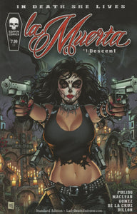 Grimm Fairy Tales La Muerta Descent #1 A Mike Krome Vf+/nm+ Comic