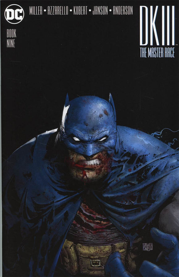 Dark Knight Iii Master Race Batman #9 Greg Capullo Midtown Variant Vf+/nm+ Comic