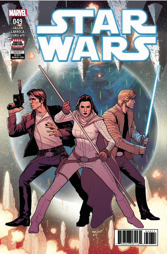 Star Wars #49 A David Marquez Cover Vf+/nm+ Comic