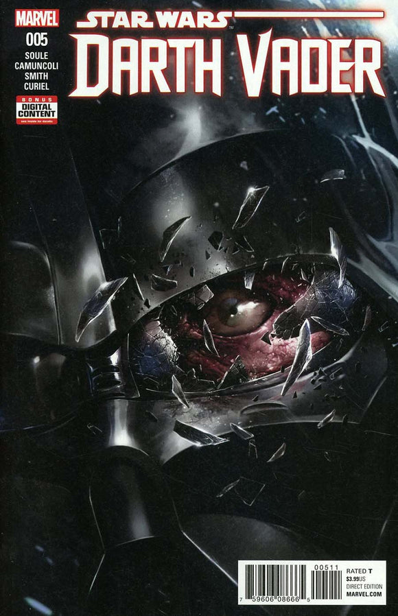 Darth Vader #5 A Regular Giuseppe Camuncoli Nm Rare Comic