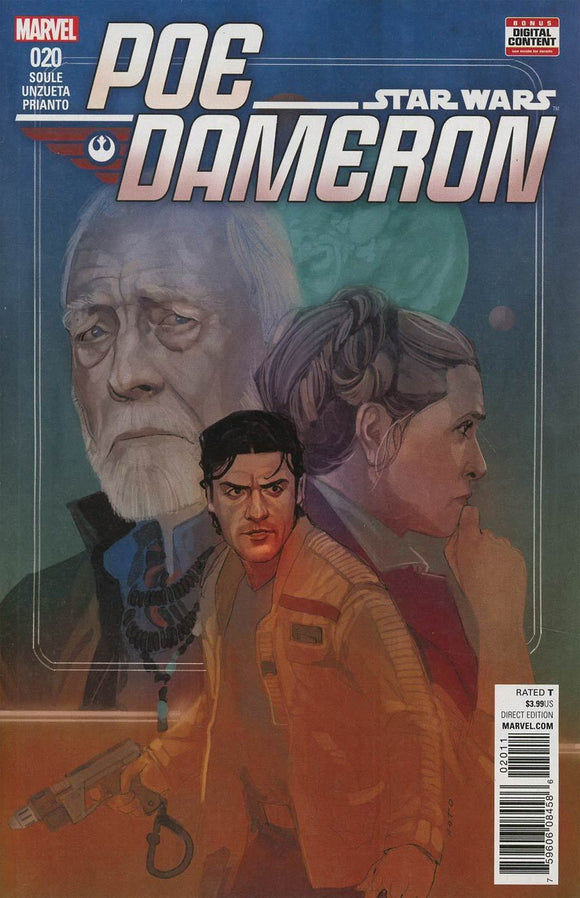 STAR WARS POE DAMERON #20 Phil Noto VF+/NM+