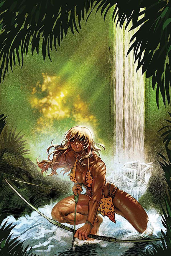 Sheena #1 H Moritat 1:10 Incentive Virgin Variant Nm Comic
