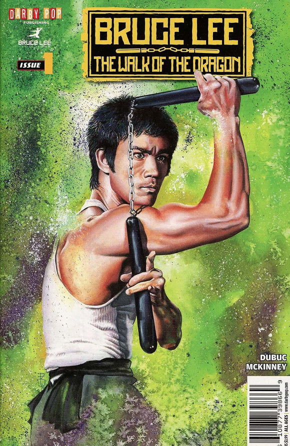 Bruce Lee Walk Of The Dragon One Shot Mckinney Atkinson Vf+/nm+ Comic