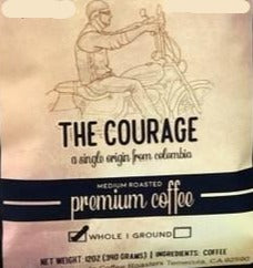 Colombian Medellin coffee 12oz COURAGE by Earth Works