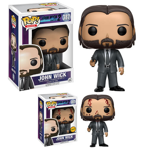 Pop! Movies | John Wick Chapter 2  w/ Chase (Lot Case of 6)