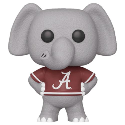 Funko Pop! College Football Alabama's Big Al Home Red Jersey DAMAGED Box