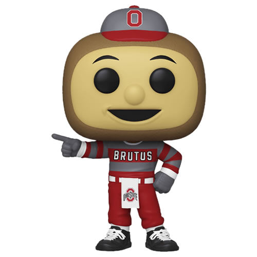 Pop! Sports College Football Mascots  Brutus Buckeye (Ohio State) in stock now