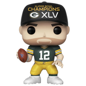Pop! Football NFL Aaron Rodgers Packers SB Champions XLV