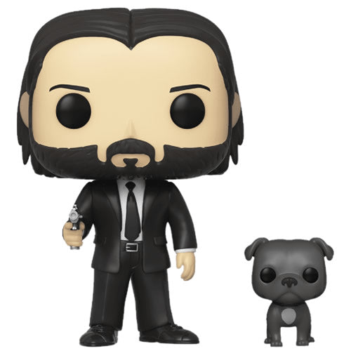 Pop! Movies John Wick w/ Dog in stock now DAMAGED Box