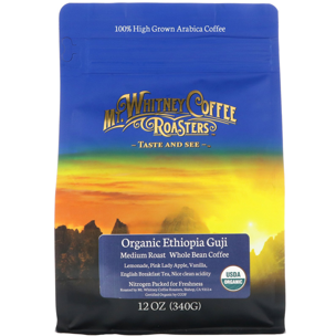 Ethiopia Organic Guji Kercha Coffee by Mt. Whitney Roasters 24 oz