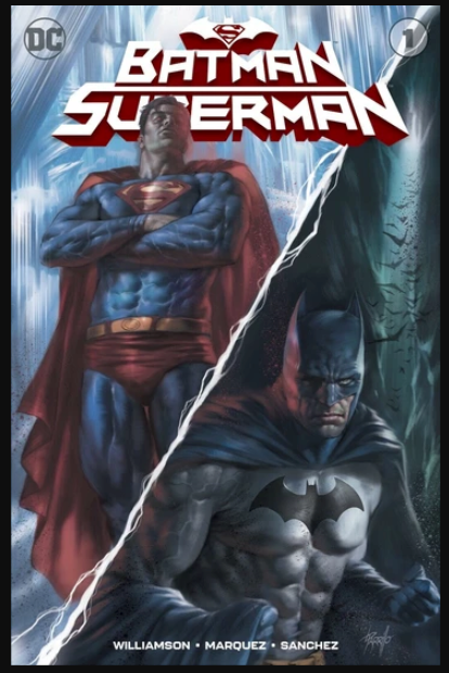 Batman Superman #1 LUCIO PARRILLO EXCLUSIVE Variant NM
